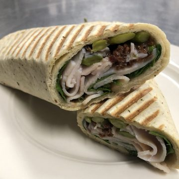 Turkey Asparagus Wrap