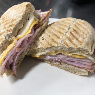 Hot Ham & 3 Cheese Sandwich