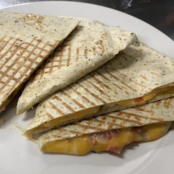 Four Cheese Quesadillas