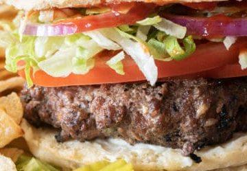 1/3 lb Cheeseburger